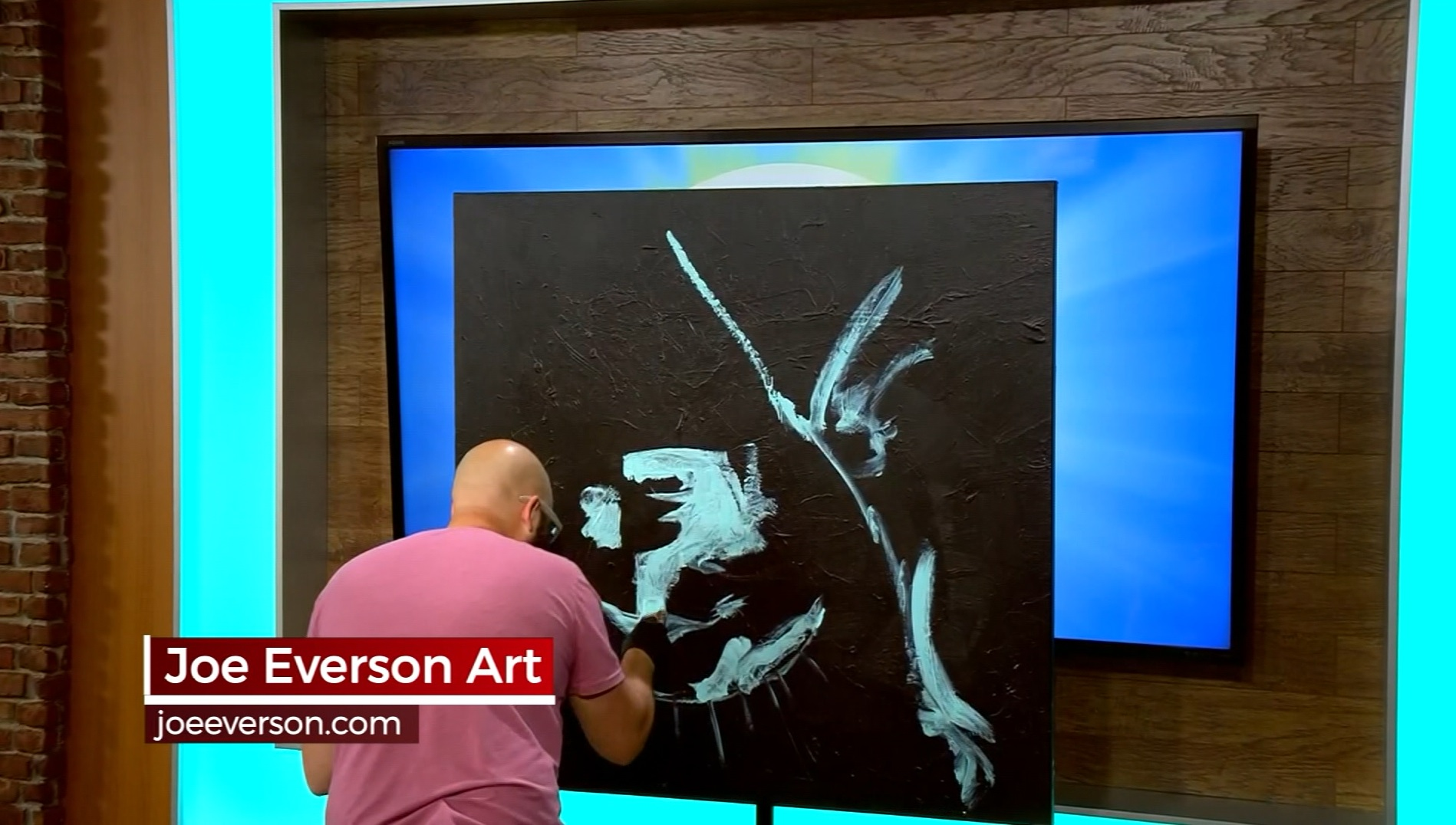 Greenville artist Joe Everson makes July 4 special with live